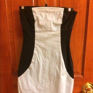Arden B strapless dress